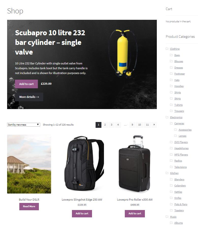Ecommerce Solutions Example
